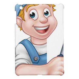 Coque iPad Mini Électricien ou bricoleur tenant le tournevis