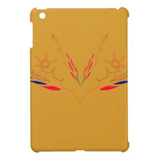 Coque iPad Mini Éléments de conception sur l'or