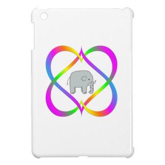 Coque iPad Mini Éléphant d'amusement en liant des coeurs
