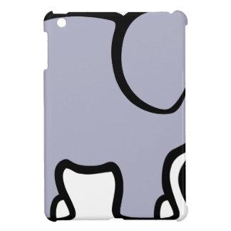 Coque iPad Mini Éléphant de bande dessinée