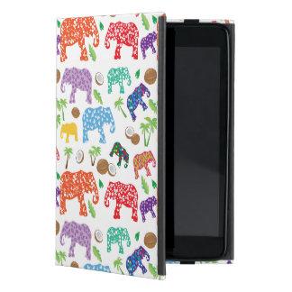Coque iPad Mini Éléphants tropicaux