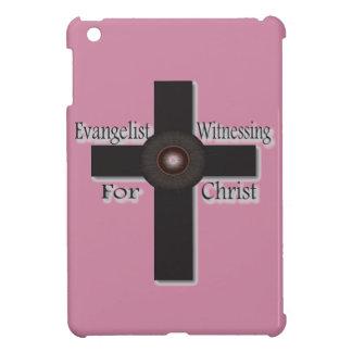 Coque iPad Mini Évangéliste étant témoin pour le mini cas du