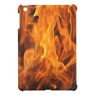 Coque iPad Mini Flammes - trop chaudes à manipuler