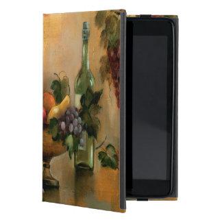 Coque iPad Mini Fruits et vin avec des tonalités d'automne