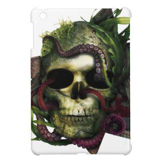 Coque iPad Mini Grunge de crâne de poulpe