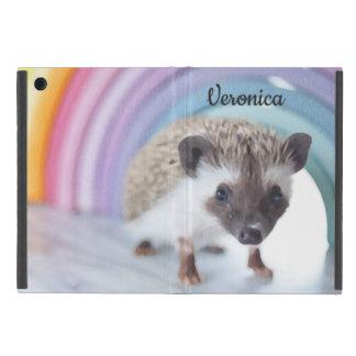 Coque iPad Mini Hérisson coloré minuscule personnalisé