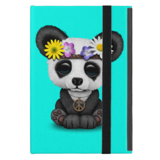 Coque iPad Mini Hippie mignonne de panda de bébé