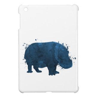 Coque iPad Mini Hippopotame/hippopotame