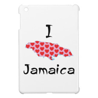 Coque iPad Mini I coeur Jamaïque