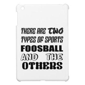 Coque iPad Mini Il y a deux types de sports Foosball et d'autres