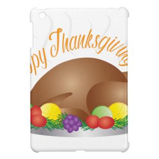 Coque iPad Mini Illustration de dîner de la Turquie cuite au four