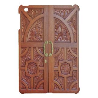 Coque iPad Mini iPad (de portes en bois découpées par main) mini