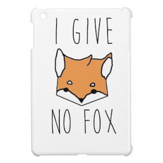 Coque iPad Mini Je ne donne aucun Fox