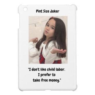 Coque iPad Mini Joker de taille de pinte : Travail des enfants et
