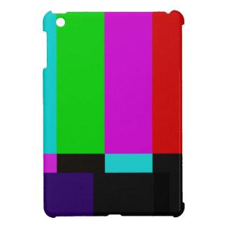 Coque iPad Mini La TV barre l'essai de couleur