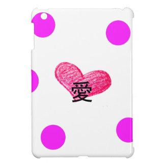Coque iPad Mini Langue japonaise de conception d'amour