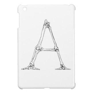Coque iPad Mini Lettre d'os - A