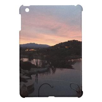 Coque iPad Mini Lever de soleil latéral de piscine
