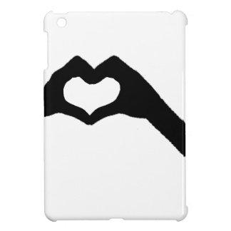 Coque iPad Mini main heart3