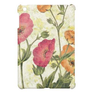 Coque iPad Mini Marguerites colorées