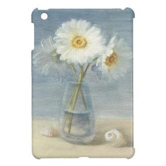 Coque iPad Mini Marguerites et coquilles