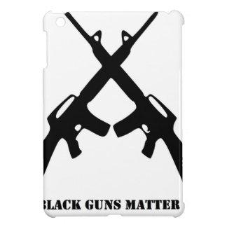 Coque iPad Mini Matière noire d'armes à feu