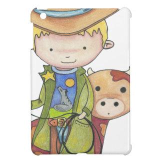 Coque iPad Mini Maxou le cowboy