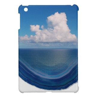 Coque iPad Mini Mer en cristal