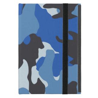 Coque iPad Mini Mini cas de bleu marine de Camo Powis d'iPad