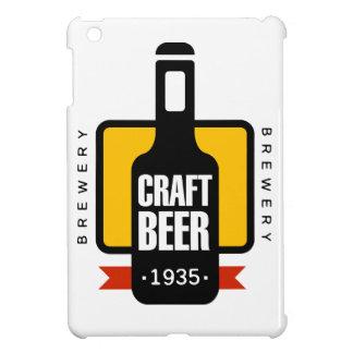 Coque iPad Mini Modèle de conception de logo de bière de métier