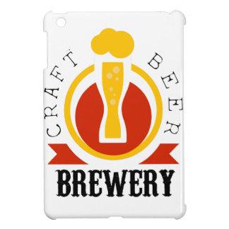 Coque iPad Mini Modèle de conception de logo de brasserie de bière