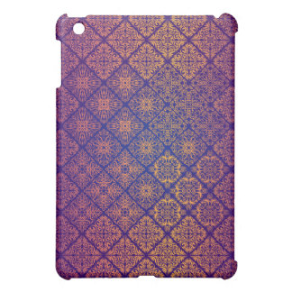 Coque iPad Mini Motif antique royal de luxe floral
