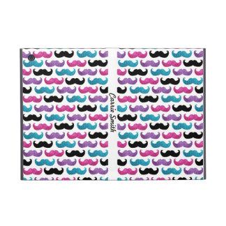 Coque iPad Mini Motif bling coloré de moustache (parties