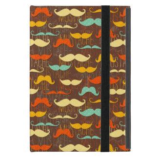 Coque iPad Mini Motif de moustache