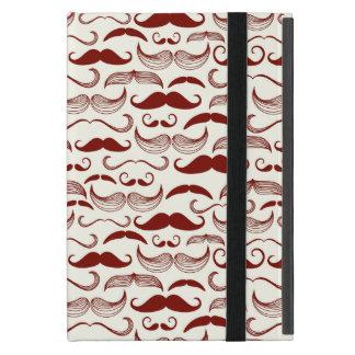 Coque iPad Mini Motif de moustache, rétro style 3