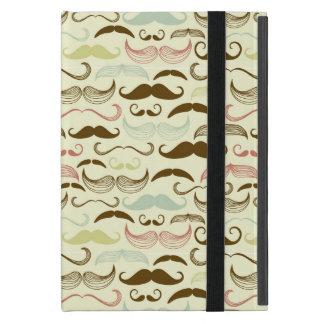 Coque iPad Mini Motif de moustache, rétro style 4