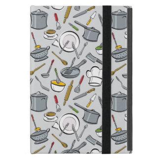 Coque iPad Mini Motif d'outils de cuisine