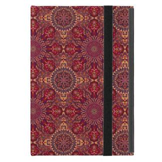 Coque iPad Mini Motif floral ethnique abstrait coloré De de