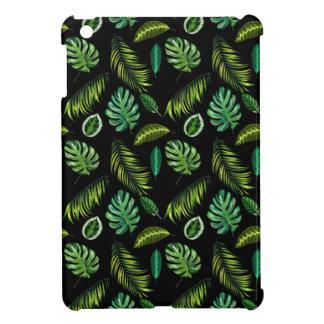 Coque iPad Mini Motif tropical Tiki floral fait main de feuille
