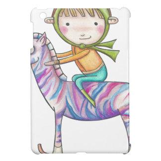 Coque iPad Mini Niko le petit explorateur et sa libre