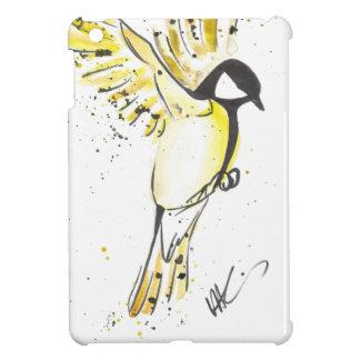 Coque iPad Mini Oiseau jaune
