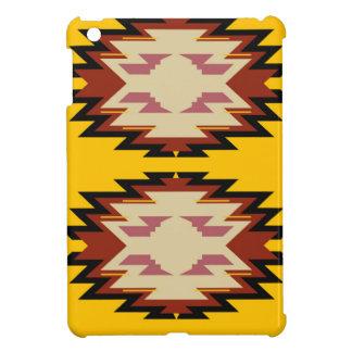 Coque iPad Mini Or exotique d'Aztèques de conception