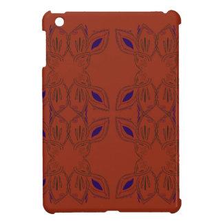 Coque iPad Mini Ornements peints à la main de Brown