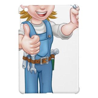 Coque iPad Mini Outil de truelle de travailleur de la construction