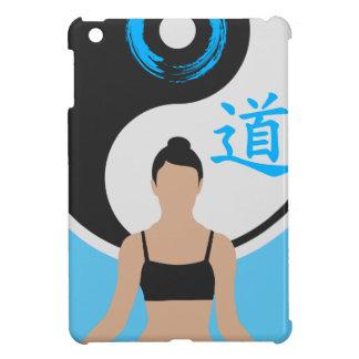 Coque iPad Mini Paix de yoga de Yin Yang