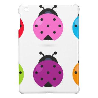Coque iPad Mini Peu d'abeilles merveilleuses de couleur de ressort