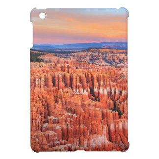 Coque iPad Mini Photo de coucher du soleil de désert de canyon de