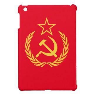 Coque iPad Mini Plat communiste de mélamine de drapeau de guerre