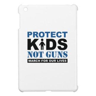 Coque iPad Mini Protégez les armes à feu d'enfants pas