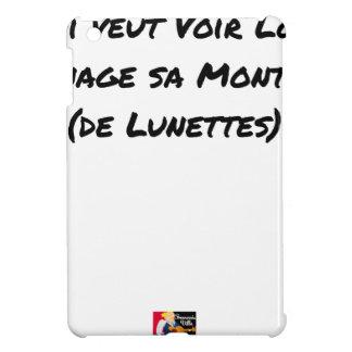 COQUE iPad MINI QUI VEUT VOIR LOIN MÉNAGE SA MONTURE (DE LUNETTES)